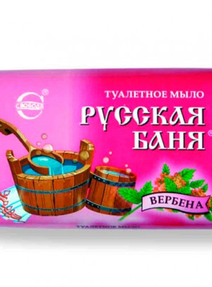 "Soap ""Ruskaia Bania"" with verbena"