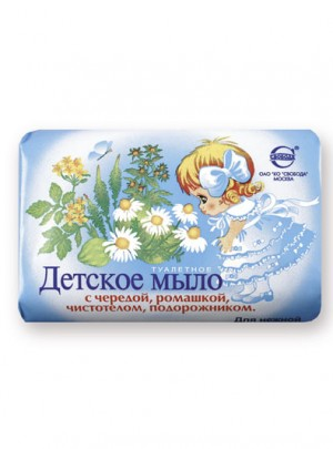 "Soap ""Detskoe"" with herbs"