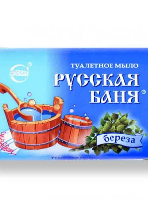 "Soap ""Ruskaia Bania"" with birch"