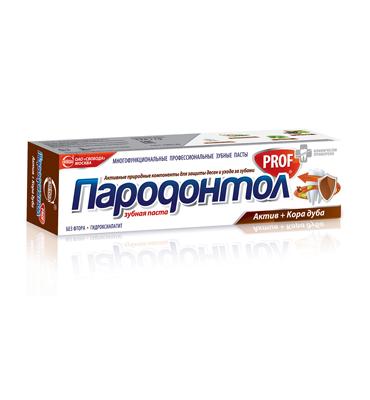 "Toothpaste ""Parodontol PROF"" assets + Oak bark"