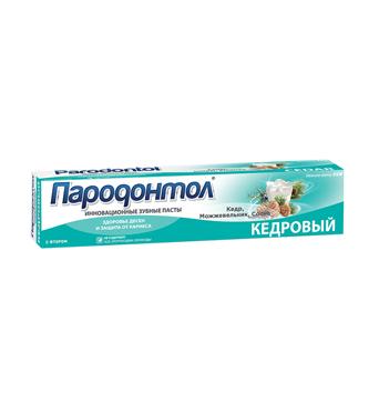 "Toothpaste ""Parodontol"" Cedar"