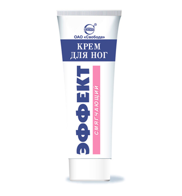 "Foot Cream ""Effect"" softening"