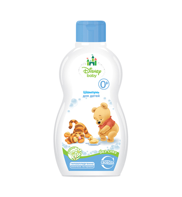 "Shampoo for children with chamomile ""Disney Baby"""