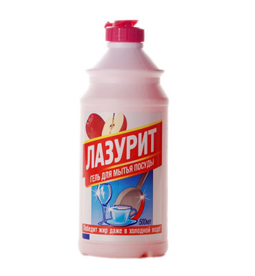 "Dishwashing detergent ""Lazurit"" with apple"
