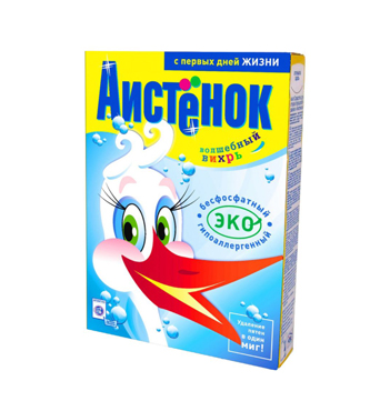 """Ecological detergent """"Aistenok"""" 1800 g"""