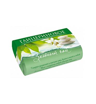 """Soap """"Glycerinovoe"""" """"Green tea"""""""