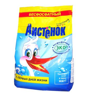 """Ecological detergent """"Aistenok"""" 4 kg"""