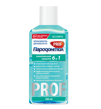 "Rinse ""Parodontol PROF"" Comprehensive protection"