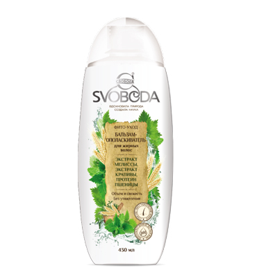 "Balsam conditioner for oily hair ""SVOBODA"""