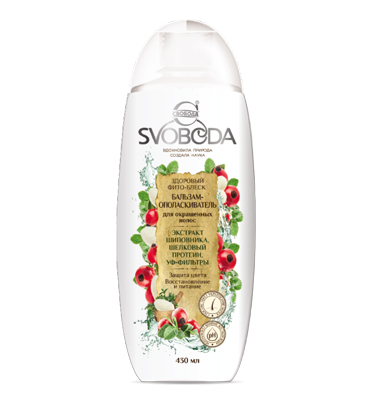 "Balsam conditioner for colored hair ""SVOBODA"""
