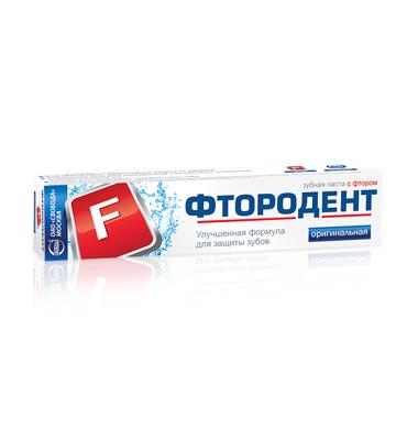 "Toothpaste ""Ftorodent"" Original"