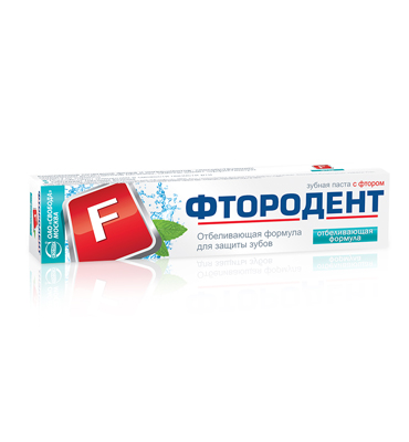 "Toothpaste ""Ftorodent"" Phytocomplex"