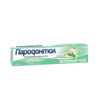 "Toothpaste ""Parodontol"" GREEN TEA"