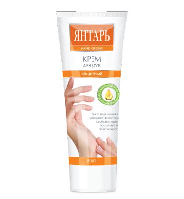 "Hand cream ""Iantar"""