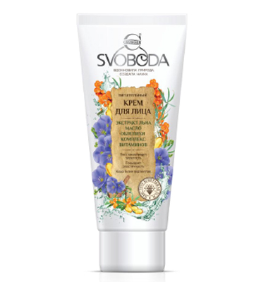 "Nourishing Face Cream ""SVOBODA"""