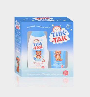 2 pieces Tik-tak gift set