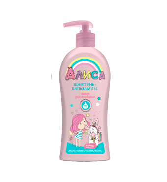 "Shampoo – balm 2 in 1 ""Alice"""