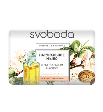 Soap Svoboda Moisturizing Soap with Almond Oil