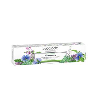 Зубная паста SVOBODA фитокомплекс