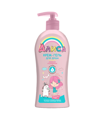 "Shower gel cream ""Alice"""
