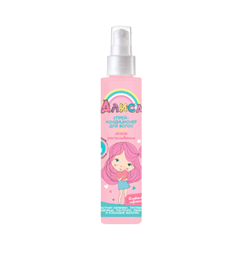 "Spray hair conditioner ""Alice"""